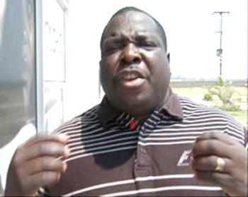 Sports Minister Chishimba Kambwili