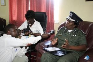Inspector General of Police Stella Libongani