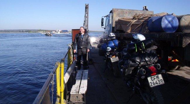 kazungula ferry, Zambia to Botswana border crossing