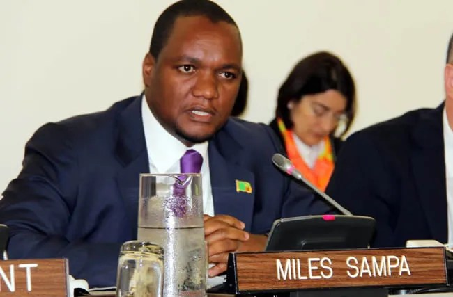 FILE: Finance and National Planning Deputy Minister Miles Sampa