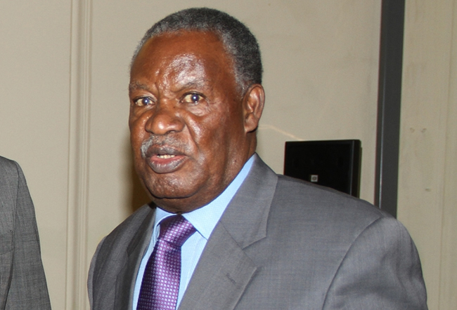 Republican President Michael Sata at State House
