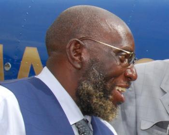 Minister of Home Affairs Kennedy Sakeni