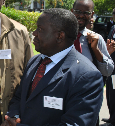 ands and Environmental Protection Minister Harry Kalaba