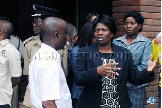 Inspector General of Police, Stella Libongani
