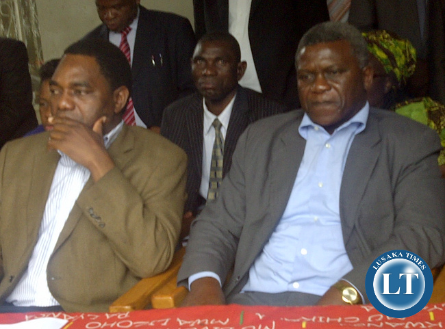 UPND Leader HH and MMD Vice President Brian Chituwo