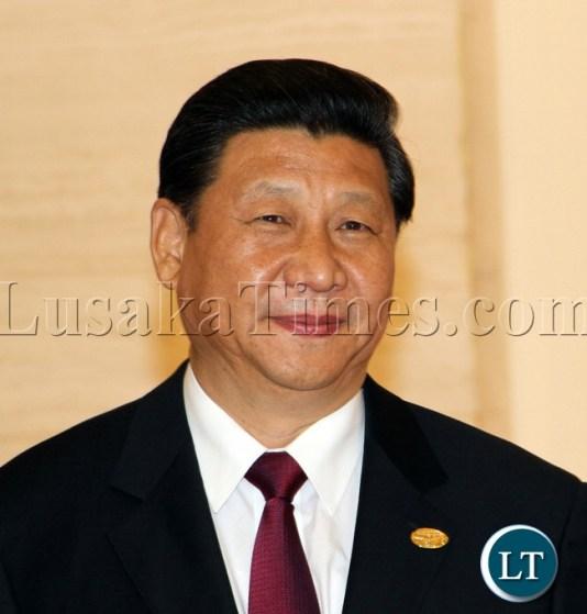 China President Xi jinping at the Summit