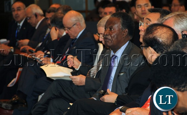 President Sata Africa risk of an ancient Continent Forum