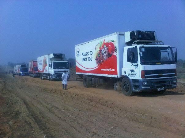 Zambeef trucks