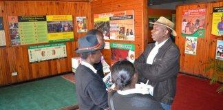 ECZ Public Relations Manager Chris Akufuna