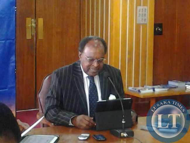 Bank of Zambia Governor  Michael Gondwe