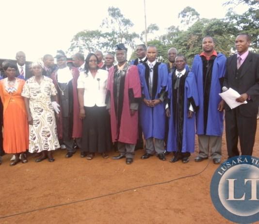 installation of Chaswe Ronald Katongo as Mayor at Chinsali Civic Center