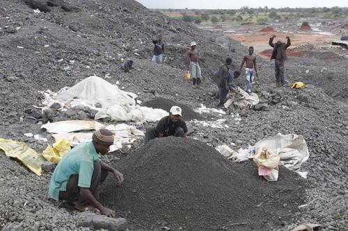 Black Mountain Mine in Kitwe