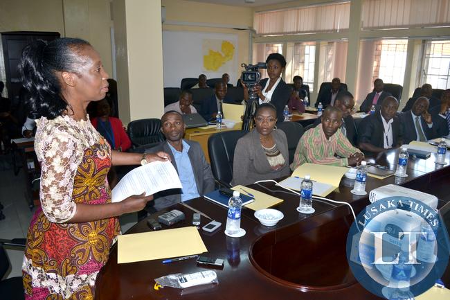 IBA Director General Josephine Mapoma