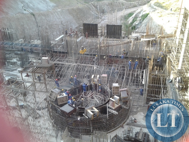 FILE: Construction  of  Itezhi Tezhi  Hydro Power