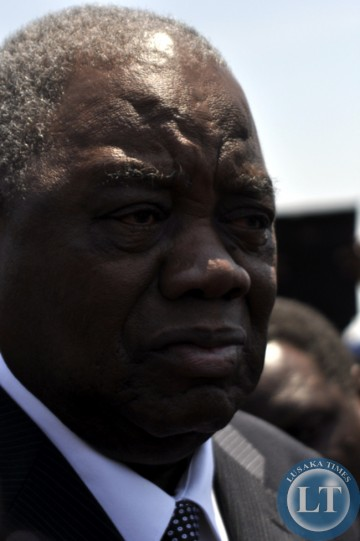 Former president Rupiah Banda mourns Sata
