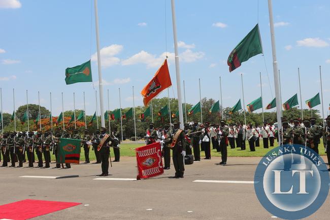 Flags fly at half mast  at Parliament