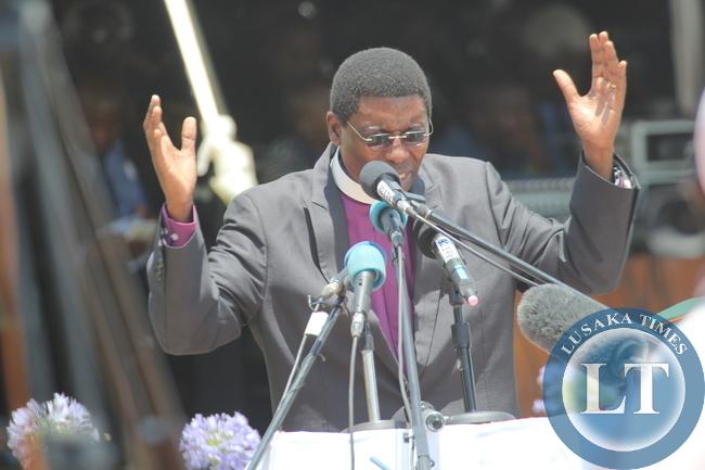 bishop Joshua Banda