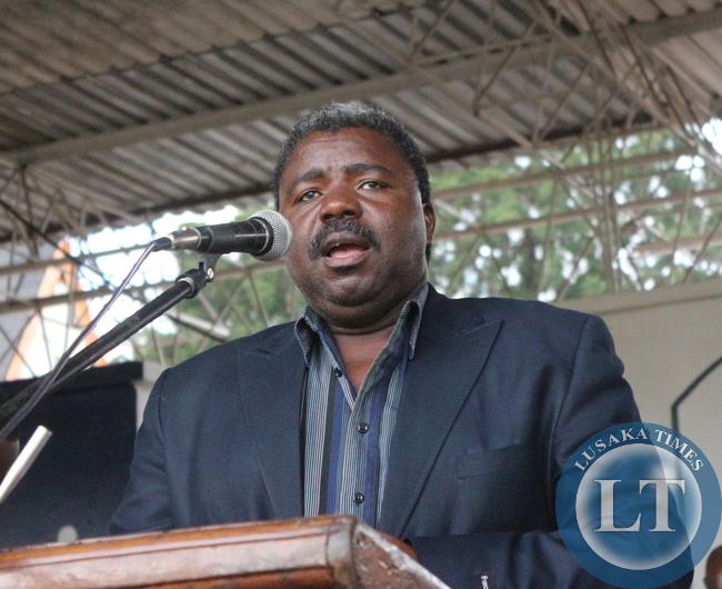 FILE: Independent Churches of Zambia President Bishop David Masupa