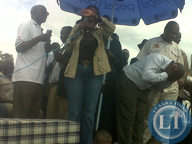 Slyvia Masebo endorsing HH