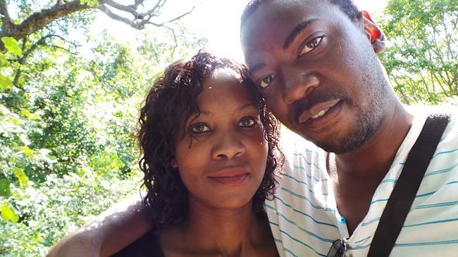 Cathy and Chris Chikwanda