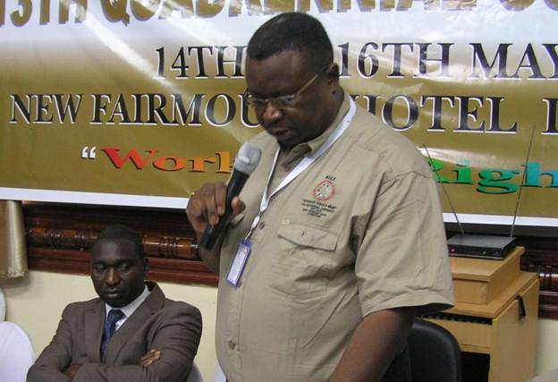 ZCTU President Nkole Chishimba