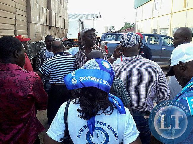 ECZ Chris Akufuna at the Scene