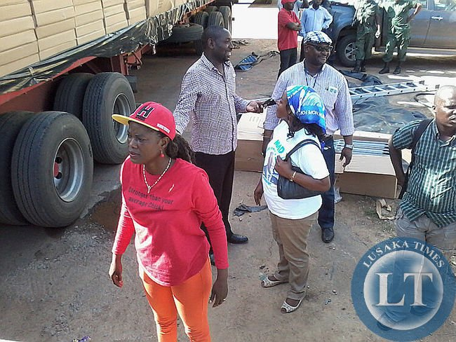 UPND and MMD Members at the Scene