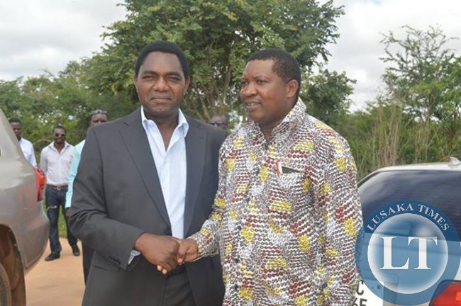 HH with Patrick Mucheleka at his New Kasama House