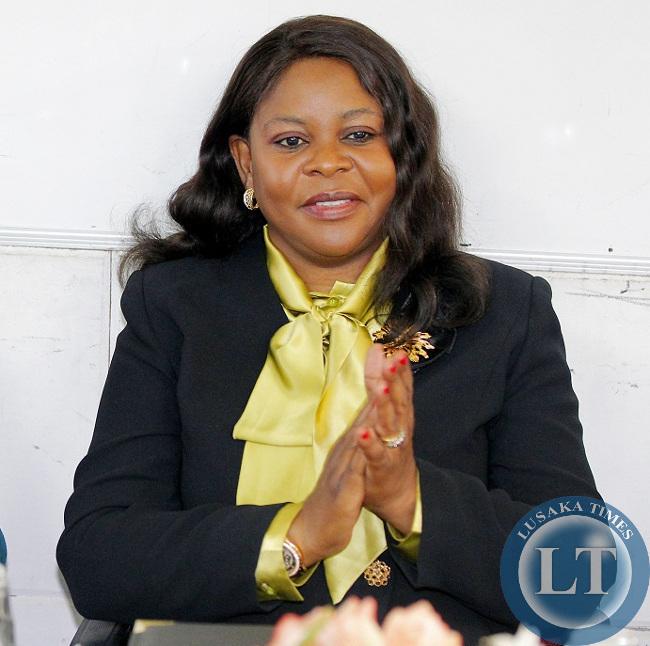 Former First Lady Dr Maureen Mwanawasa