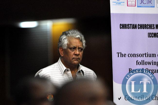 UPND campaign manager Depak Patel