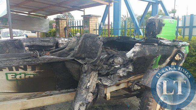 Burnt PF Boat