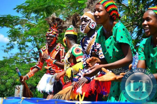 The Zimbabwean Dance Troupe almost stole the show at LICAF 2015 with colourful performances