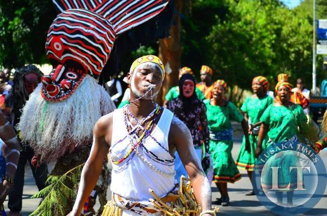 Various cultural displays took centre stage during LICAF2015
