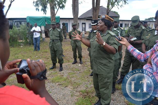 Inspector General of Police Stella LibonganiInspector General of Police Stella Libongani