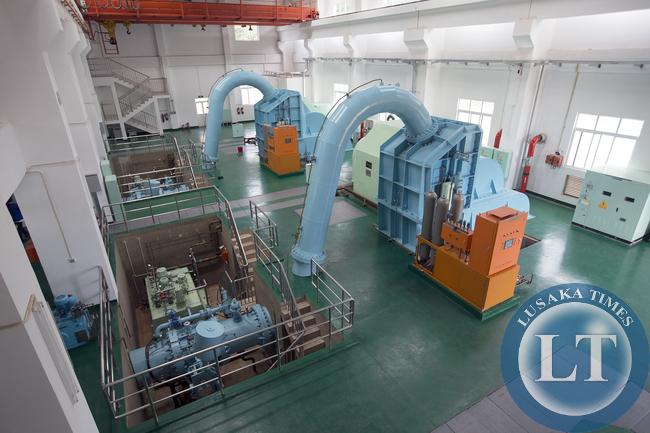 Lunzua power Station two Generators