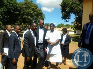 Parliamentary committee on health  at mothers shelter at Chipata General Hospital on Thursday