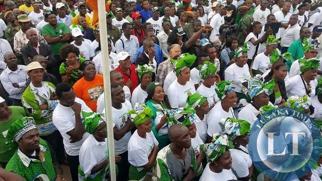 PF Chawama rally in pictures