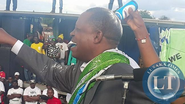 UPND NEC member Paul Moonga rejoins PF