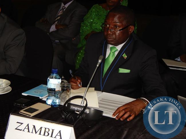FOREIGN Affairs Deputy Minister, Mr. Rayford Mbulu, during the session of the 14th Africa - Nordic Meeting of foreign ministers at Legend Golf Safari Resort held from 9 - 10th April, 2015