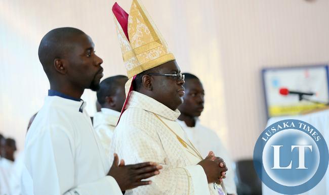 Bishop Charles Kasonde of Solwezi Parish