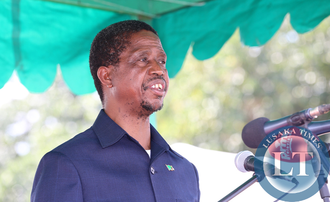 President Lungu address Zamban Workers
