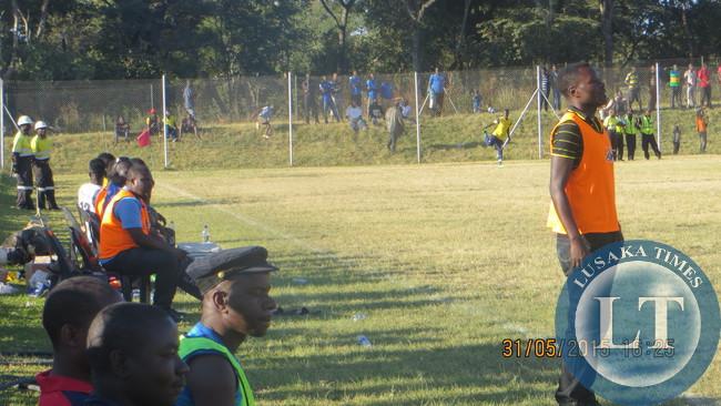 Coach Allan Kamwanga