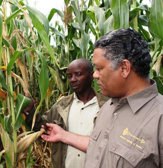 Minister of Agriculture and Livestock Given Lubinda