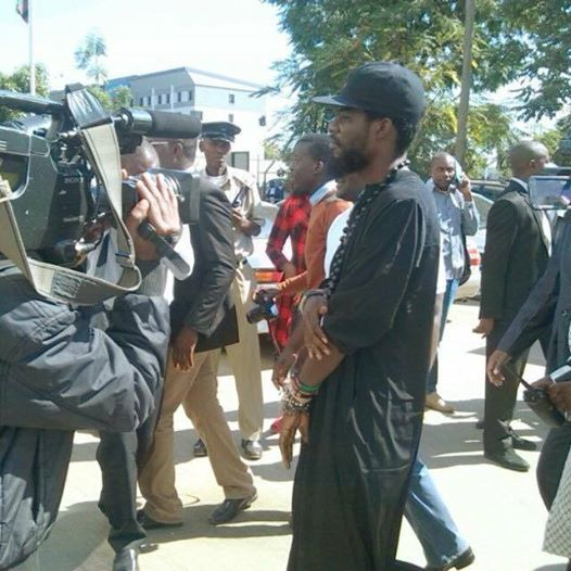 Pilato at the police station