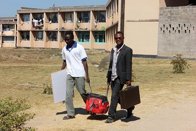 CBU students leave campus after government closed it indefinately