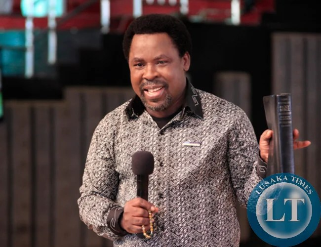 Zambia : TB Joshua denies predicting that President Lungu cannot win