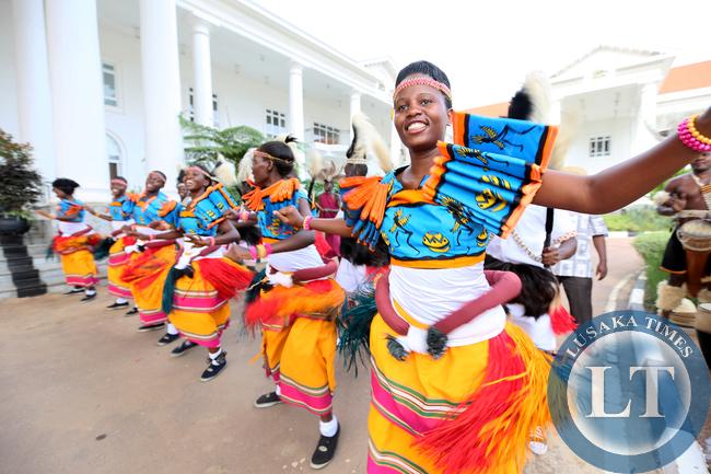 Ugandan Culture Dancers