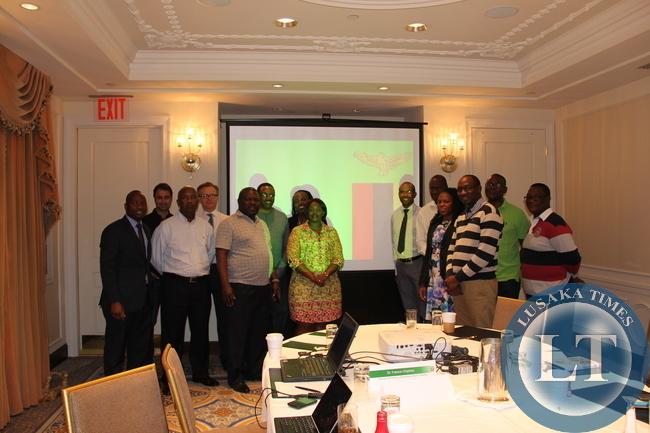 Zambia Eurobond delegation