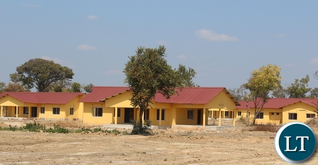 Robert Makasa University -One of the completed 15 housing units