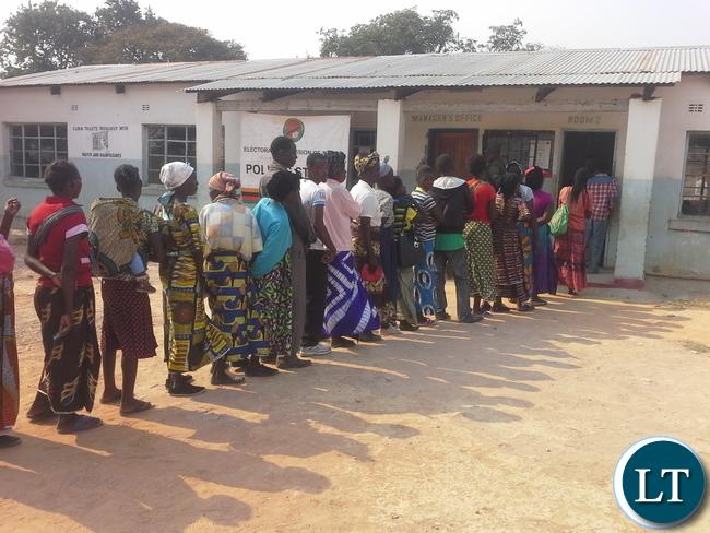 Voting in vote in Lubansenshi